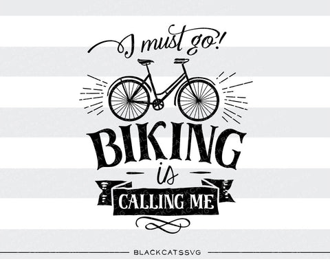 Biking is calling -  SVG file Cutting File Clipart in Svg, Eps, Dxf, Png for Cricut & Silhouette - nature wild arrows svg - BlackCatsSVG