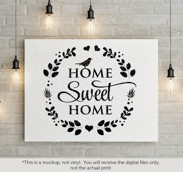 Home Sweet Home Svg File Cutting File Clipart In Svg