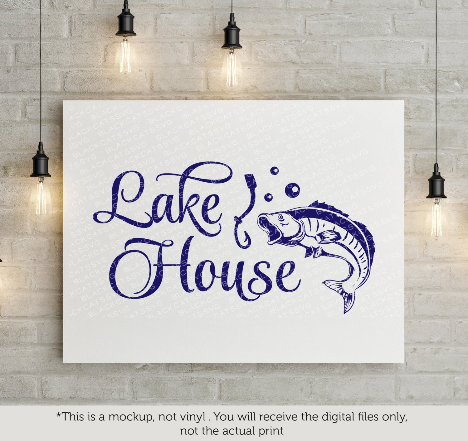 Lake house - SVG file Cutting File Clipart in Svg, Eps, Dxf, Png for Cricut  & Silhouette