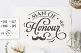 Man of Honor SVG