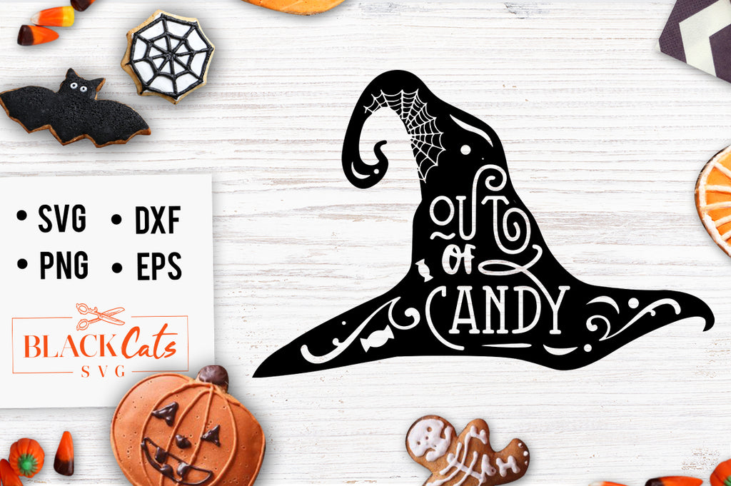 Out of Candy sign SVG File