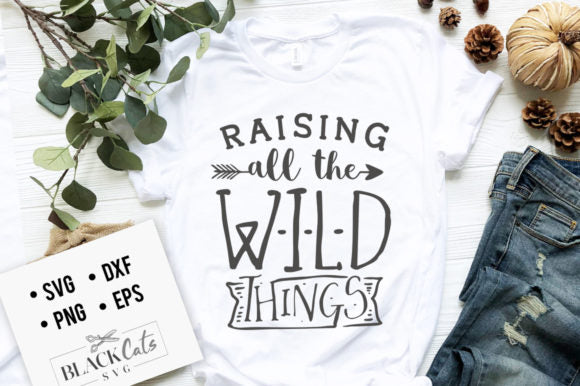 Raising All the Wild Things SVG