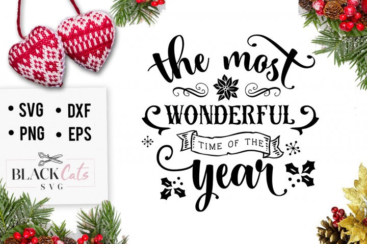 The most wonderful time of the year - SVG