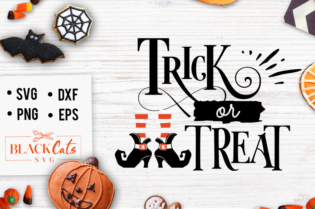 Trick or Treat sign SVG File