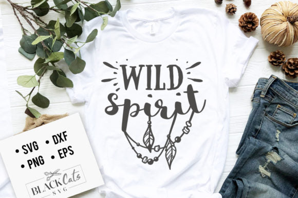 Wild Spirit SVG File
