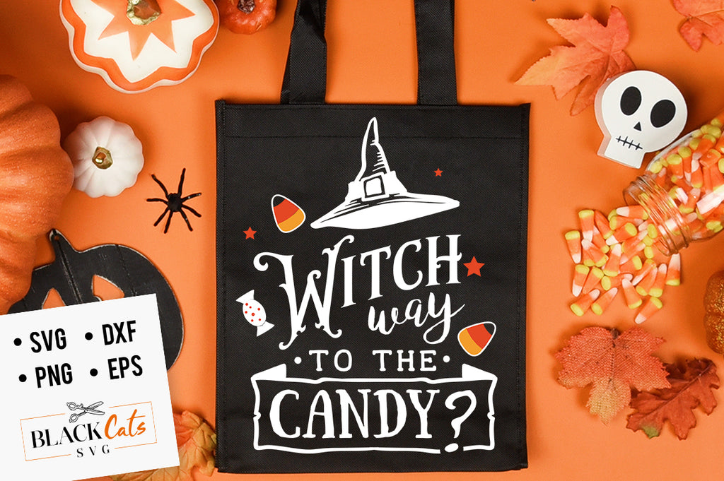 Witch Way to the Candy SVG File