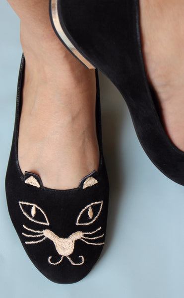 cat faced loafers - soma