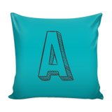 Alphabet Pillow Covers A - K - SimplyBaby.co - Pillows Funny baby clothes