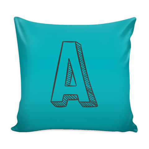 Alphabet Pillow Covers A - K