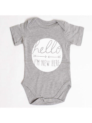 Hello, I'm New Here - SimplyBaby.co - Cute & Affordable Clothing For The Whole Family!