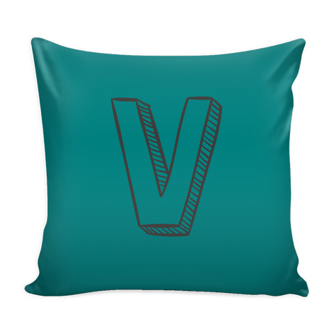 ALPHABET PILLOW COVERS V - Z - SimplyBaby.co - Cute & Affordable Clothing For The Whole Family!