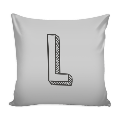 ALPHABET PILLOW COVERS L - U