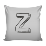ALPHABET PILLOW COVERS V - Z - SimplyBaby.co - Pillows Funny baby clothes