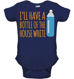 Baby - I'll have house white - SimplyBaby.co - Apparel Funny baby clothes