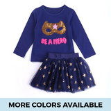Be a Hero 2-Piece Set - SimplyBaby.co - Clothing Set Funny baby clothes