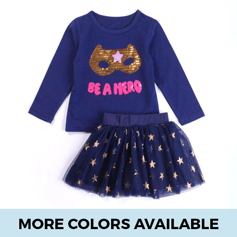 Be a Hero 2-Piece Set - SimplyBaby.co - Cute & Affordable Clothing For The Whole Family!