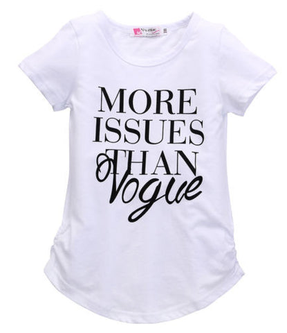 More Issues than Vogue Shirt - SimplyBaby.co - Shirts Funny baby clothes