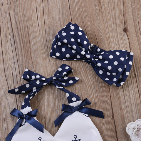 Anchor & Polka Dots 3-Piece Set - SimplyBaby.co - Cute & Affordable Clothing For The Whole Family!