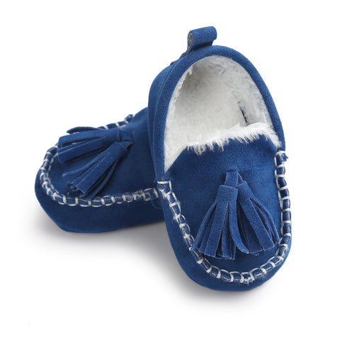 Fur Moccasins - SimplyBaby.co - Shoes Funny baby clothes