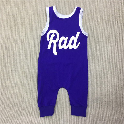 Rad Romper - SimplyBaby.co - Romper Funny baby clothes