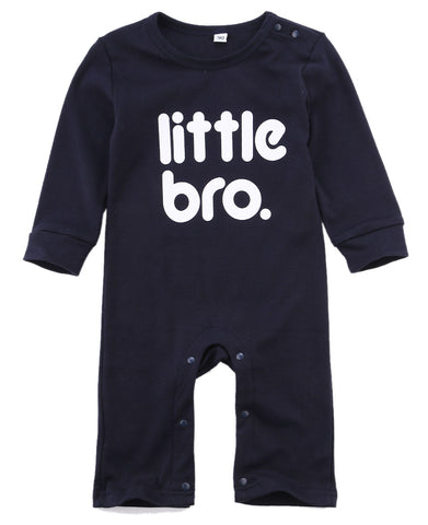 Little Bro. Romper - SimplyBaby.co - Romper Funny baby clothes