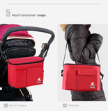 Insular Brand Thermal Insulation Baby Diaper Bags For Strollers Waterproof - SimplyBaby.co - diaper Funny baby clothes