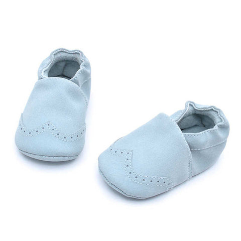 Soft Nubuck Moccasins - SimplyBaby.co - Shoes Funny baby clothes