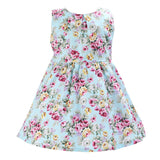 Floral Summer Dress - SimplyBaby.co - Dress Funny baby clothes