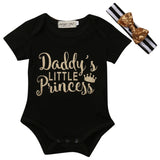 Daddy's Little Princess - SimplyBaby.co - Onesie Funny baby clothes