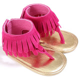 Tassel Ankle Sandals -  Free Shipping! - SimplyBaby.co - Shoes Funny baby clothes