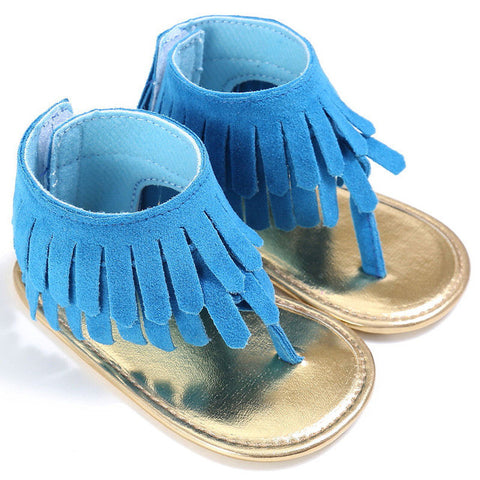 Tassel Ankle Sandals - SimplyBaby.co - Shoes Funny baby clothes
