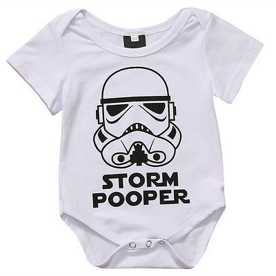 Storm Pooper Onesie - SimplyBaby.co - Onesie Funny baby clothes
