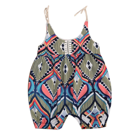 Beautiful Bohemian Romper - Free Shipping - SimplyBaby.co - Romper Funny baby clothes
