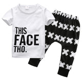 This Face Tho 2-Piece - SimplyBaby.co - Clothing Set Funny baby clothes