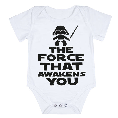 The Force Awakens You Onesie - SimplyBaby.co - Onesie Funny baby clothes