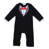 New Fashion Baby Boy Cotton Jumpsuit Rompers - SimplyBaby.co - Jumpsuit Funny baby clothes