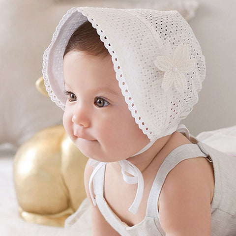 Children Summer Bonnet - SimplyBaby.co - Hat Funny baby clothes
