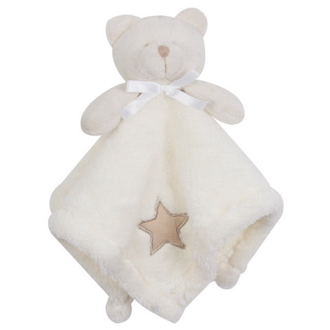 1 Pcs Kawaii Bear Newborn Baby Soothe Plush Towel - SimplyBaby.co - 1-Piece Funny baby clothes