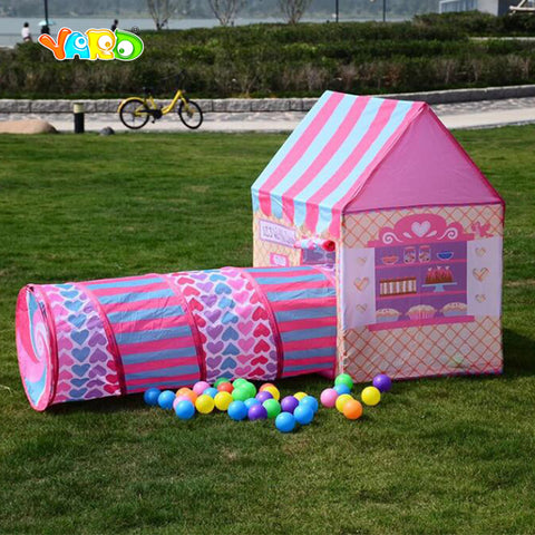 Yard Crawl Activity Playhouses