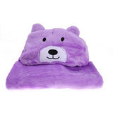 Kids Hooded Towel In Assorted Colors - SimplyBaby.co - Blanket Funny baby clothes