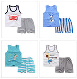 Assorted Summer Boys | Girls 2 pc. Sets - SimplyBaby.co - summer outfit Funny baby clothes