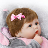 Cute reborn baby doll, soft real touch, gift for children and adults - SimplyBaby.co - Toys | Baby Funny baby clothes