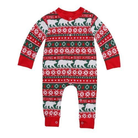 Newborn Baby Holiday Romper - SimplyBaby.co -  Funny baby clothes
