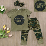 Newborn Kids Baby Boys Girls Camo Sets - Free shipping - SimplyBaby.co - Onesie Funny baby clothes
