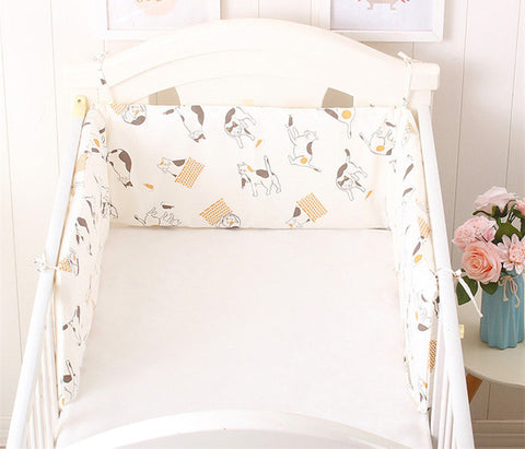 Nordic Stars Design Baby Bed Bumpers, One-piece Crib Around Cushion Protector - Free Shipping! - SimplyBaby.co - crib Funny baby clothes
