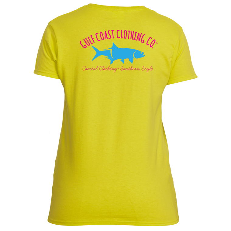 Gulf Coast Ladies Summer Breeze Logo Tshirt