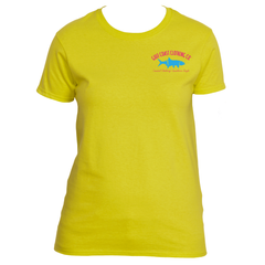 Gulf Coast Clothing Co. Ladies Summer Breeze Tarpon Logo Tee