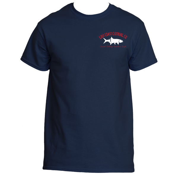 Gulf Coast Clothing Co. Nation Tarpon Logo Tee