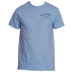 Gulf Coast Clothing Co. Mens Wave Rider Tarpon Logo Tee