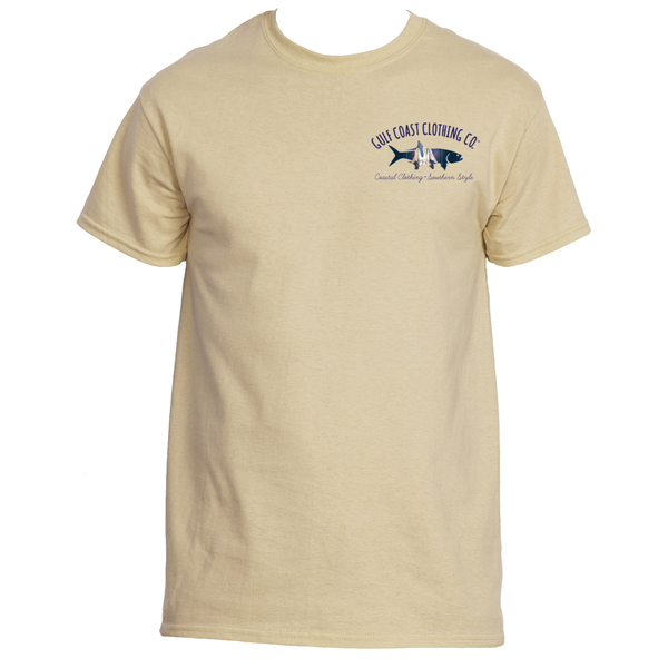 Gulf Coast Clothing Co. Mens State Collection Louisiana Coast Tee